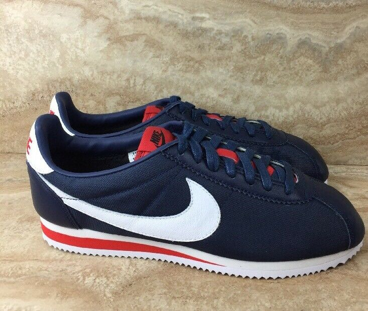 Nike ID Cortez Classic Premium Nylon Men's Shoes Comfortable The most popular shoes for men and women
