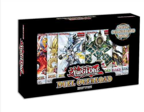 YuGiOh Duel Overload Box Set Brand New /& Sealed 1st Edition