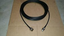 US MADE 35 ft  PL-259 UHF SO239 HAM CB VHF RF RG-58 Coax Antenna Cable
