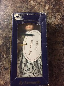 Leonardo Collection Porcelain Doll  My Name Is Sarah with Box - <span itemprop=availableAtOrFrom>Norwich, Norfolk, United Kingdom</span> - Leonardo Collection Porcelain Doll  My Name Is Sarah with Box - Norwich, Norfolk, United Kingdom