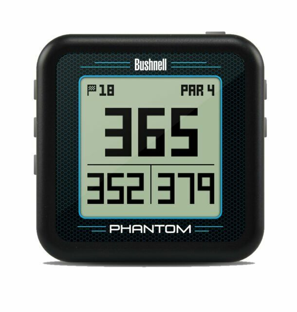 Bushnell Phantom Golf GPS Rangefinder - Black