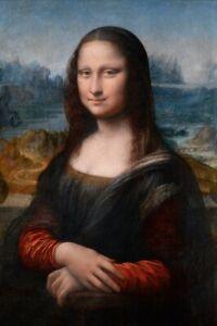 MONA-LISA-by-LEONARDO-DA-VINCI-FINE-ART-PRINT-REPRODUCTION-ON-CANVAS-24X36