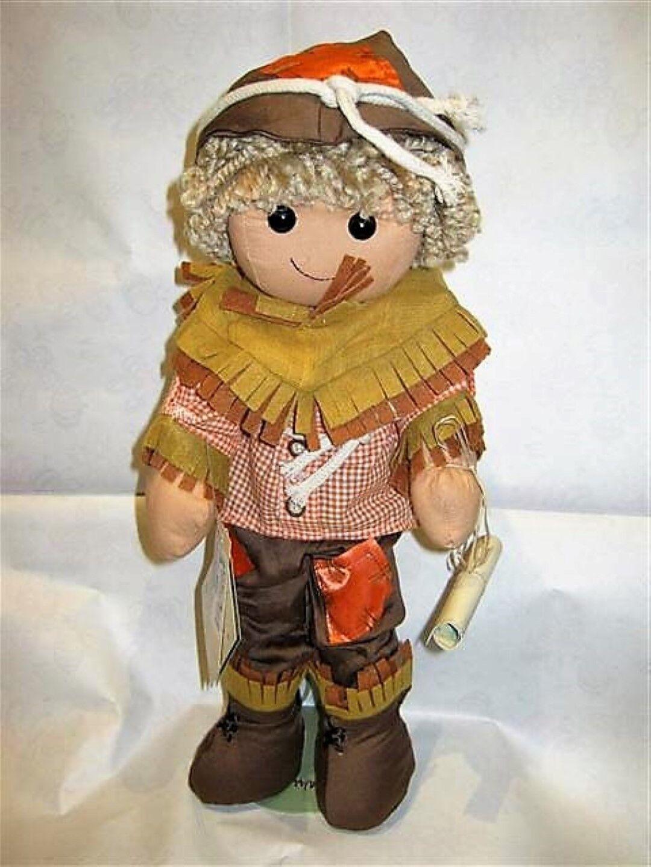 My Doll Bambolo Spaventapasseri Mago Di OZ 42 cm. Bambola di stoffa cotone lana