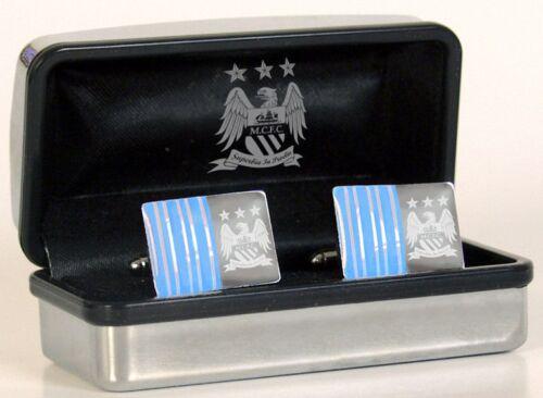 Gemelos de hombre de ciudad-Manchester City Cromo Gemelos-en Caja de Regalo-Ideal Regalo