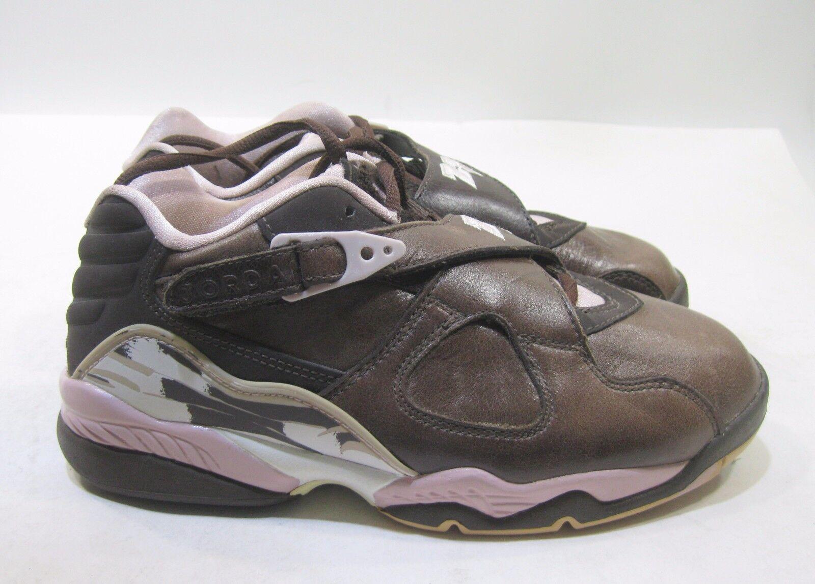 Nike Air Shoes Air Nike Jordan 8 Retro Low Brown/Baby Pink Sneakers Womens 7 Eur 38 3c1388