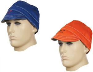 Weldas FIREFOX SALDATORI ritardante di fiamma protezione saldatura Cap / cappello di alta qualità