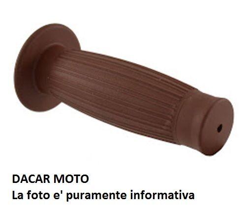 Par de perillas vintage marrón L.125mm RMS 184160850