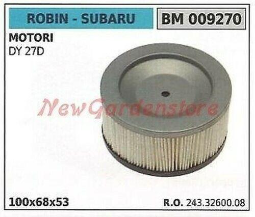 Luftfilter Robin für Motor Rasenmäher Dy 27D 009270