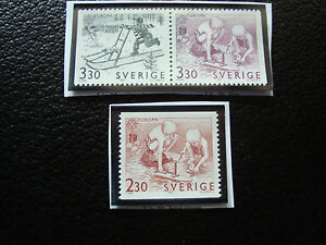 Suede-Stamp-Yvert-and-Tellier-N-1521-A-1523-Nsg-A22-Stamp-Sweden