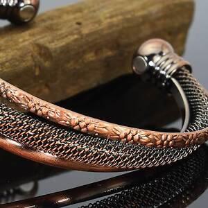 Ladies-Copper-Magnetic-Bracelet-Healing-Arthritis-Bracelet-Magnetic-Therapy-Trf