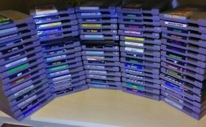 NINTENDO NES GAMES - CARTRIDGE LOT - BUY 5 GET 6TH FREE & .99 Cent SHIPPING