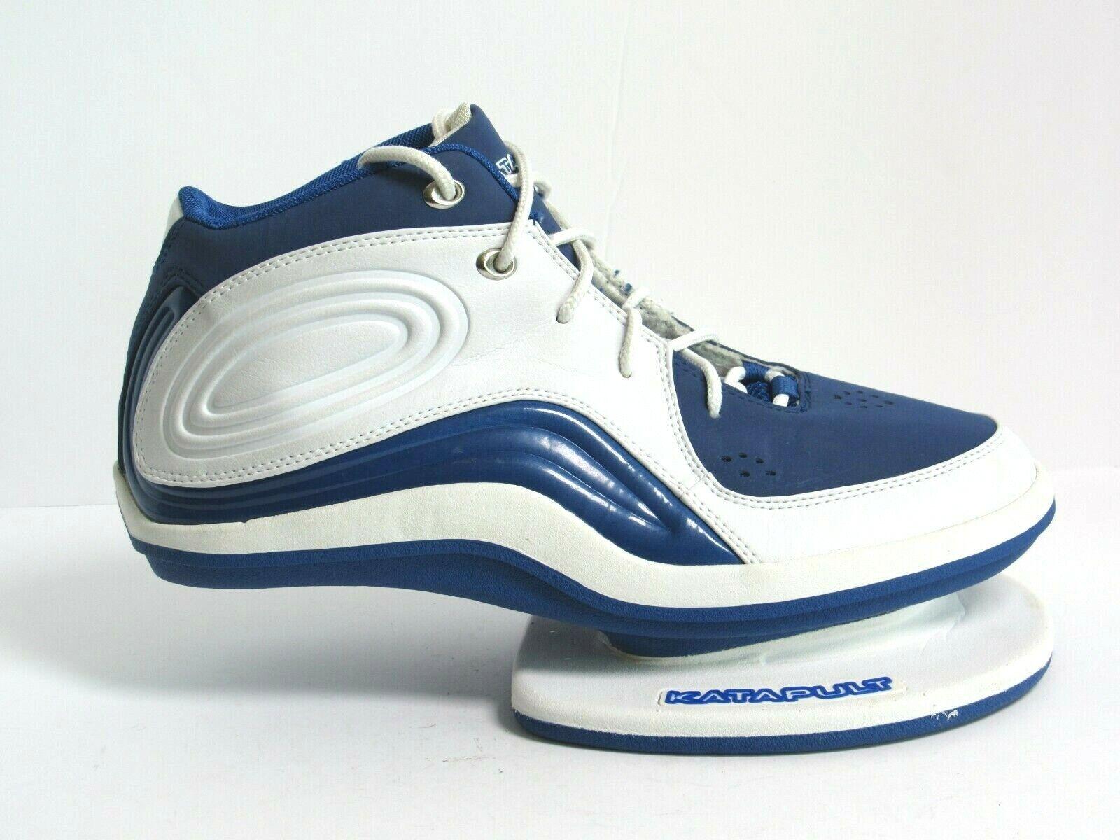 Katapult Men's Athletic Training Innovation shoes Size 11.5 bluee White (CB5)