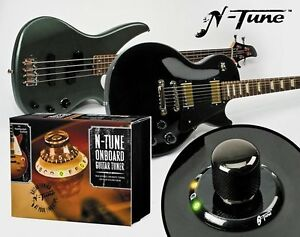 n tune on board chromatic electric guitar tuner for gibson style guitars ebay