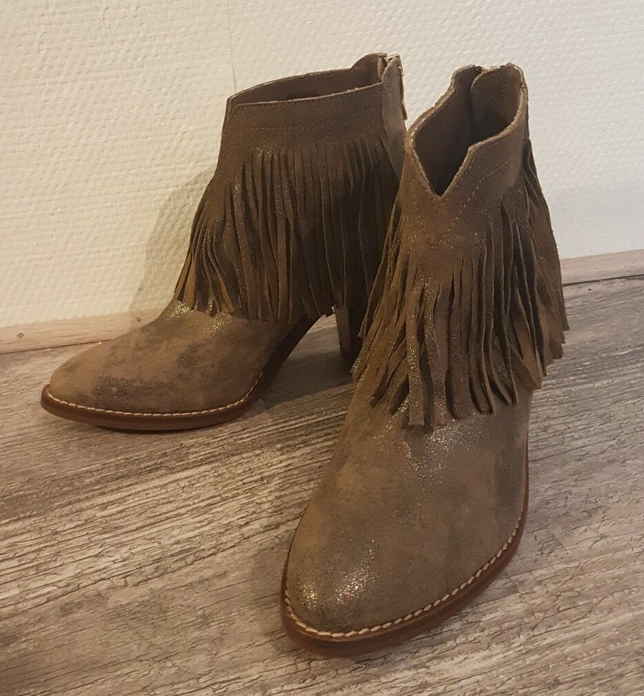 DESTOCKAGE BOTTINES CUIR zapatos  KANNA Talla 36  zapatos  KI6703 SATURNO CLAY H135 6b8e0d
