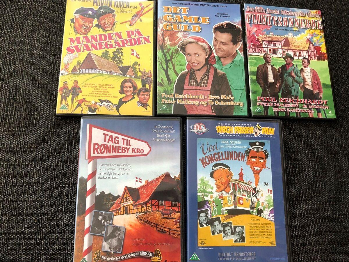 Gamle danske film, DVD, drama - dba.dk - Køb og Salg af