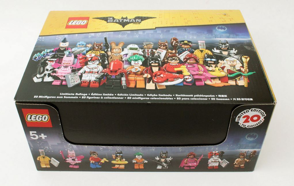 Lego The Batman Movie 71017 Complete Sealed Display Box of 60 Minifigures
