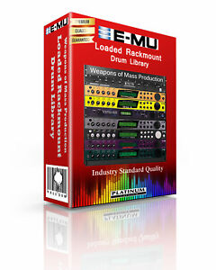 E-MU-Loaded-Rackmount-Kits-Drum-WAV-Samples-amp-Sounds-Library-digital-delivery