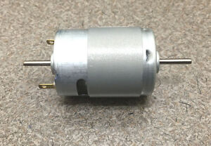 Mabuchi 12v Dc Motor 2100 2900 Rpm Dual Shaft Hobbies Rc