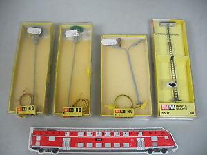 AI423-0-5-4x-Brawa-H0-AC-Leuchte-Lampe-Laterne-5507-540-1511-NEUW-OVP