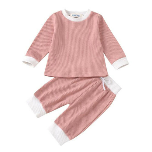 Details about  /Newborn Kids Baby Girls Outfits Clothes T-Shirt Tops Long Pants Tracksuit Set