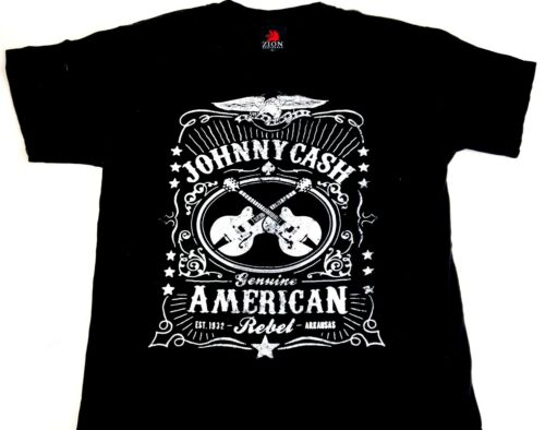 Johnny Cash shirt Black tee Country Music shirt Bl