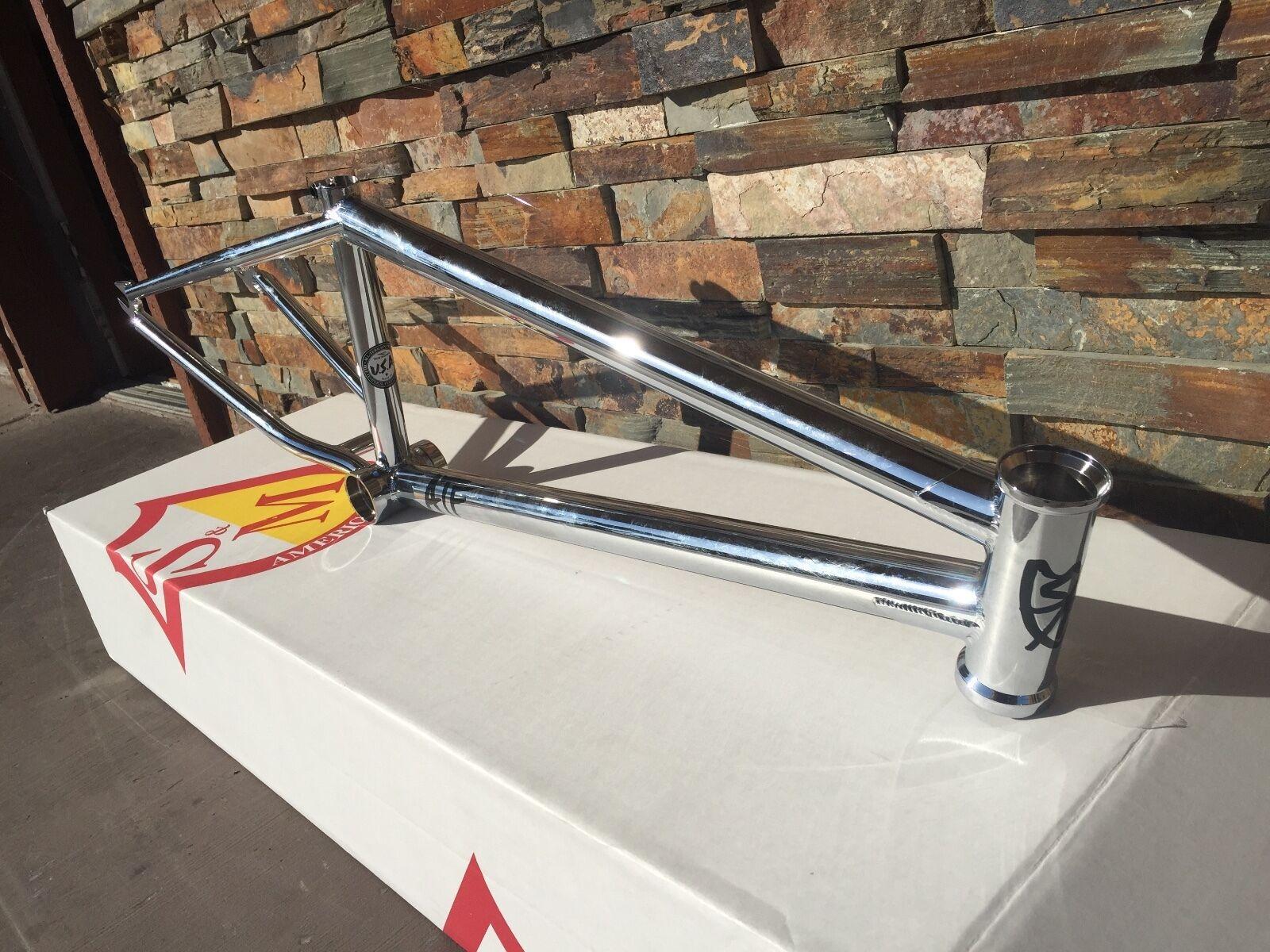 S&M 22 pulgadas ATF Marco 21.625 Cromo 22  Bicicleta Bmx 21.625  facción Induct