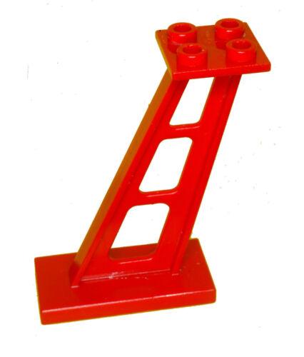 Manca LEGO Brick Rosso 4476 x 4 SUPPORTO 2 x 4 x 5 Montante inclinata
