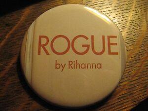 Rogue By Rihanna Perfume Logo Fragrance Advertisement Pocket Lipstick Mirror
