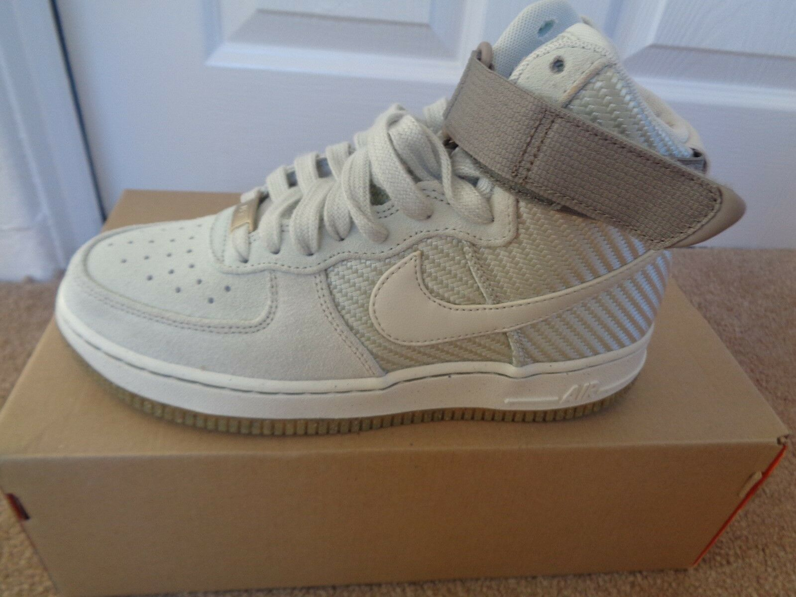Nike Air Force 1 HI PRM 654440 004 trainers uk 7.5 5 eu 38.5 us 7.5 uk NEW IN BOX 8d8b69