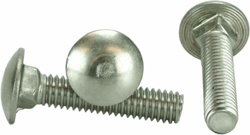 """304 50 pcs 3//8-16 x 2 1//2/"""" Stainless Steel Carriage Bolt 18-8"""