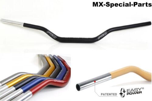 Manillar 28,6 mm negro # KTM SX 85 # ligeramente-estable-gleitschale-aluminio 118//42
