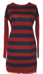 edc by Esprit Strick Pullover Long Strickkleid Kleid Gr. L ...