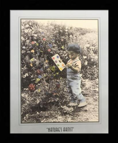 """US ART 16x20/"""" Flowers AFRICAN AMERICAN Literary Art Print Poster Religious"""