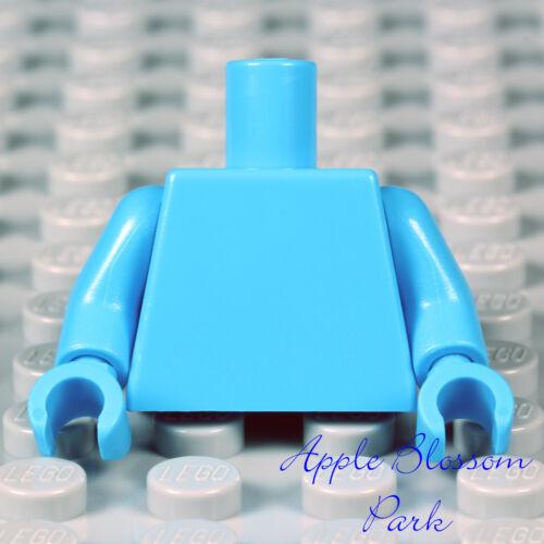 NEW Lego Minifig Plain DARK AZURE BLUE TORSO Star Wars Max Rebo Med Body w//Hands