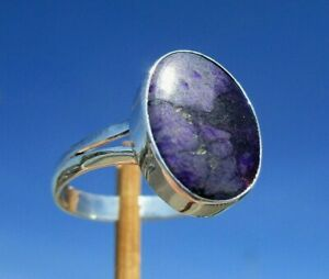 Sugilith-aus-Suedafrika-Ring-Gr-19-Silber-925