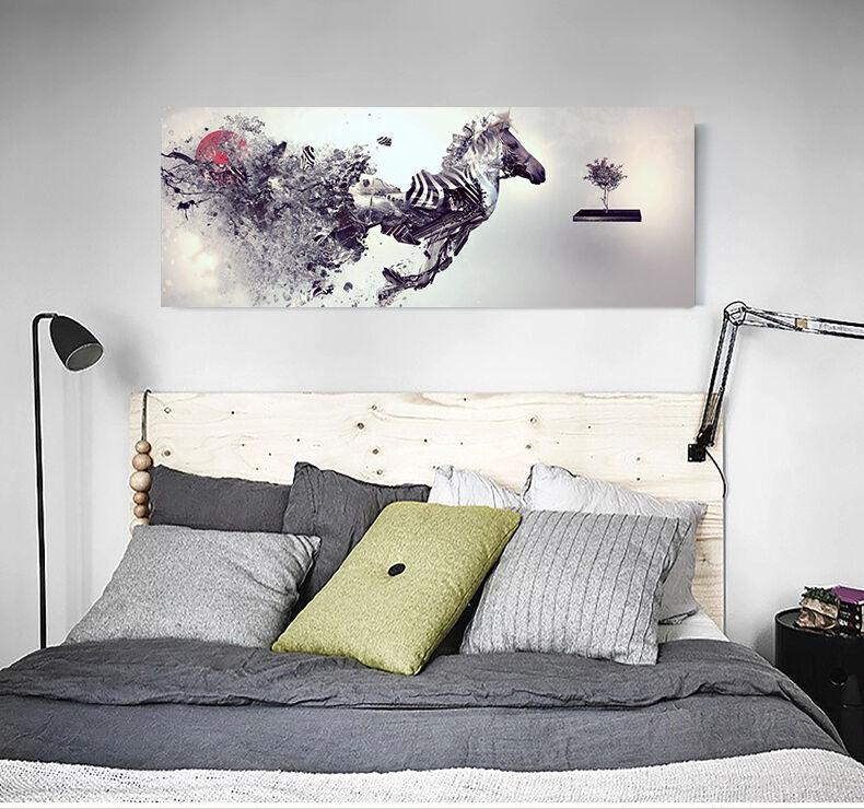 3D Die tinte für pferde 623 Fototapeten Wandbild BildTapete Familie AJSTORE DE