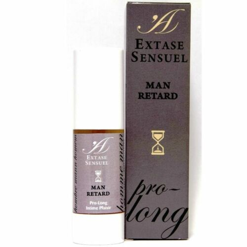 Aphrodisiac fragrances EXTASE SENSUAL EXTASE SENSUEL MAN RETARD