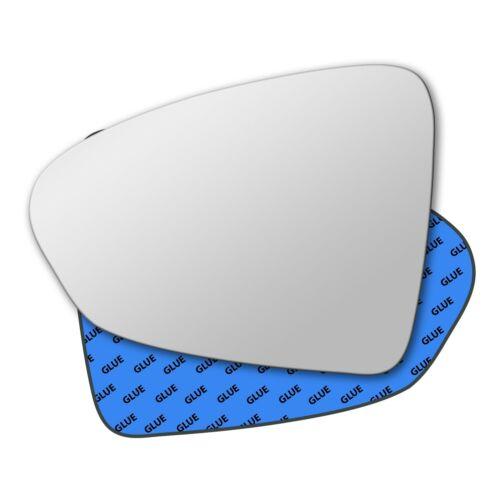 Main Gauche Côté Passager Miroir De Verre Pour Fiat Tipo 2015-2019 0846LS