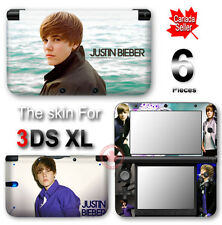Justin Bieber Popular New SKIN VINYL STICKER DECAL COVER #1 for Nintendo 3DS XL