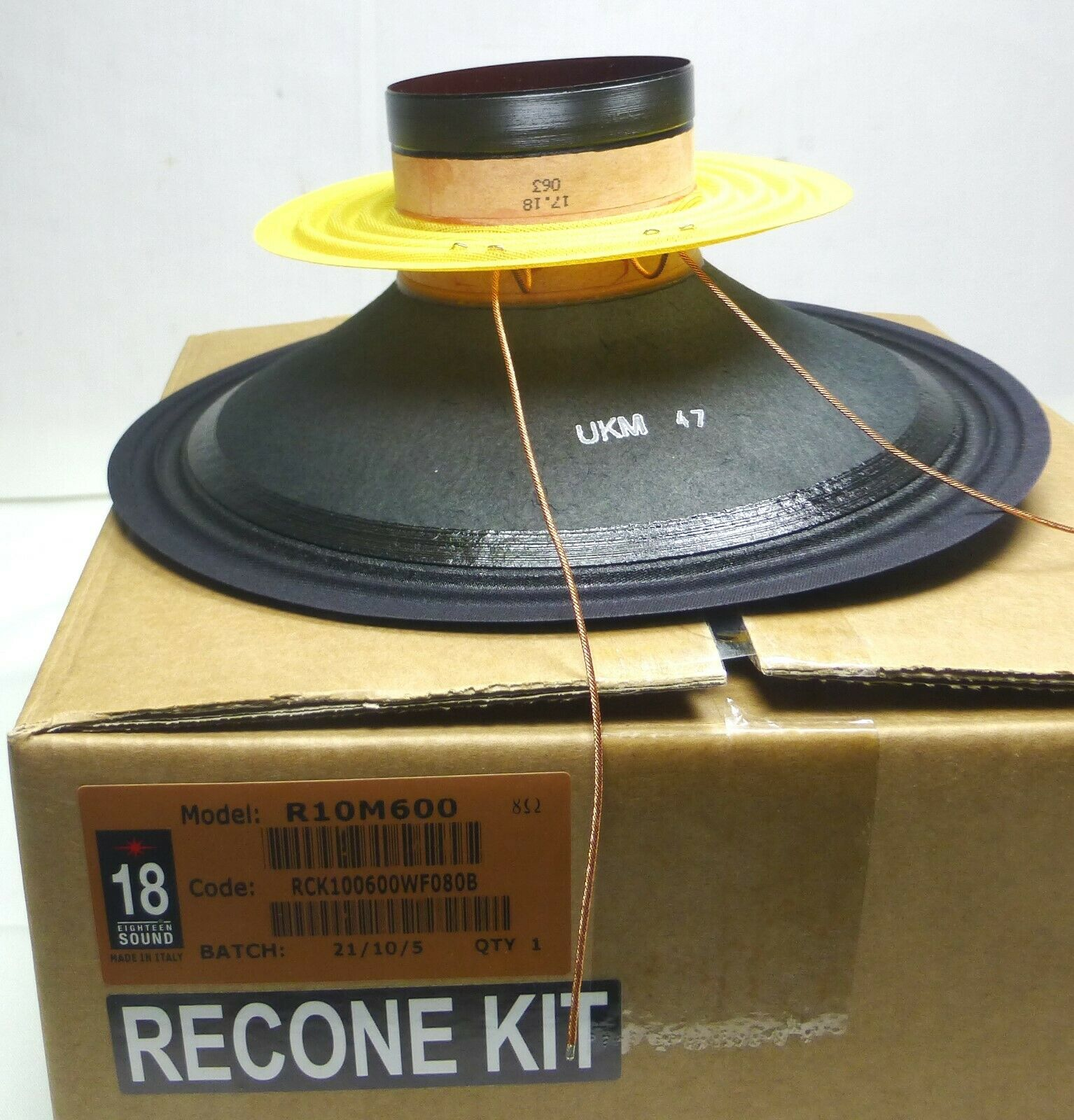 Eighteen Sound   18 Sound  -10  Re-Cone Kit - R 10M600.