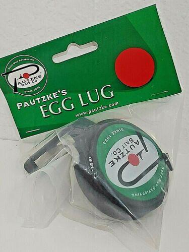 Pautzke Egg Lug Flip Top Trout Fishing Bait Holder Fits Standard Soft Bait Jars