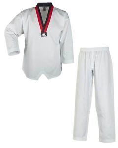 Adidas-Taekwondoanzug-Poom-Kampfsport-Taekwondo-TKD-140-200cm-T220-DRBB