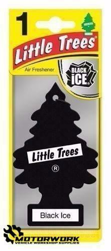 MAGIC TREE LITTLE TREES CAR AIR FRESHENER SCENT - BLACK ICE