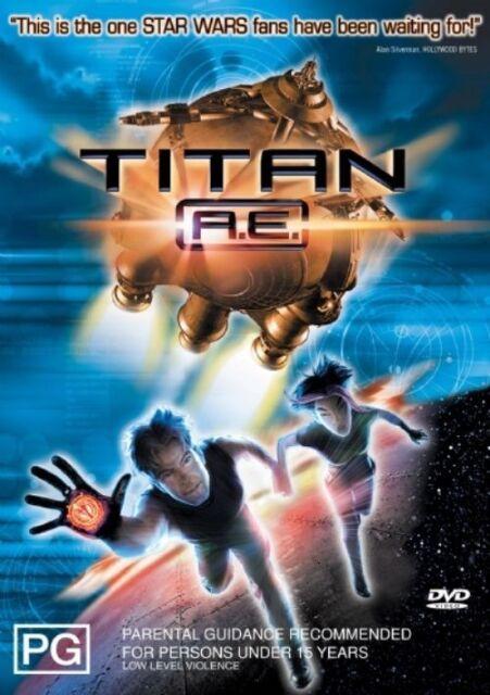 Titan A.E. (DVD, 2006)**r4**Excellent Condition*