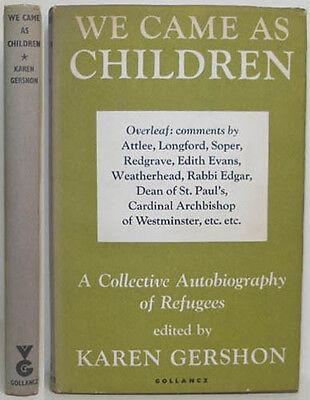 CHILD REFUGEES GERMAN JEWISH CHILDREN SURVIVORS OF WW11