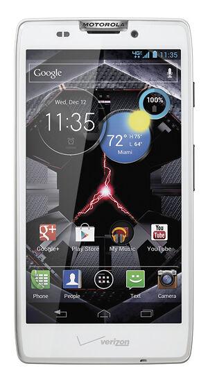 Motorola Droid RAZR HD - 16GB - White (Verizon) Smartphone ...