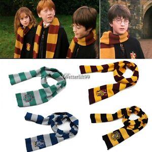 Fashion-Harry-Potter-Gryffindor-Hufflepuff-Slytherin-Knit-Scarf-Cosplay-Costume