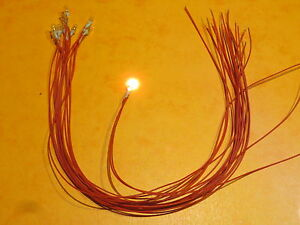 LOT-10-MINI-LAMPES-Grain-de-ble-3mm-6V-ou-12V-en-serie-par-2-cablees-30cm-NEUF