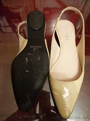 Ravel Crema patente zapatos talla 39 Reino Unido 6