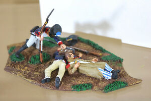 HERITAGE-MINIATURES-MAISON-MILITAIRE-MM15-NAPOLEONIC-WOUNDED-FRENCH-TROOPERS-nf